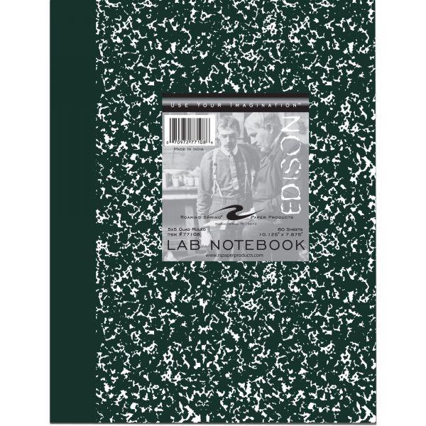 Roaring Spring Black Marble Lab Book