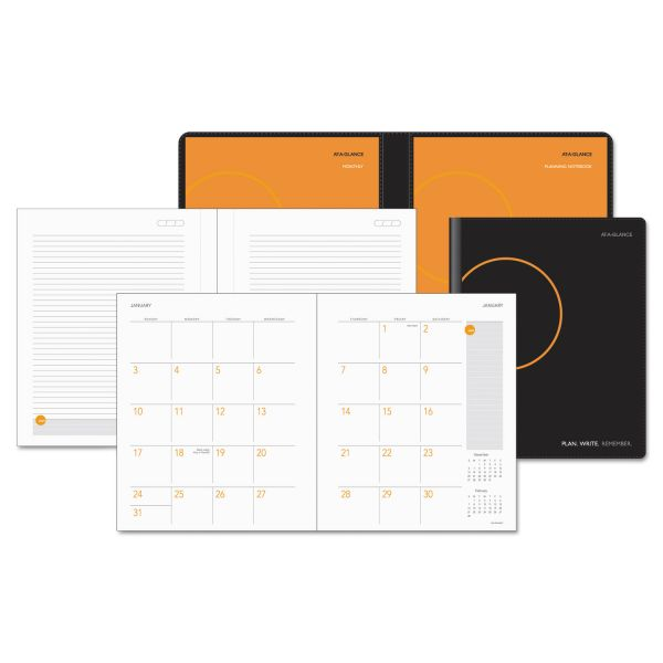 AT-A-GLANCE Plan. Write. Remember. Academic Monthly Planner, 9 1/8 x 10 15/16, WE, 2018-2019