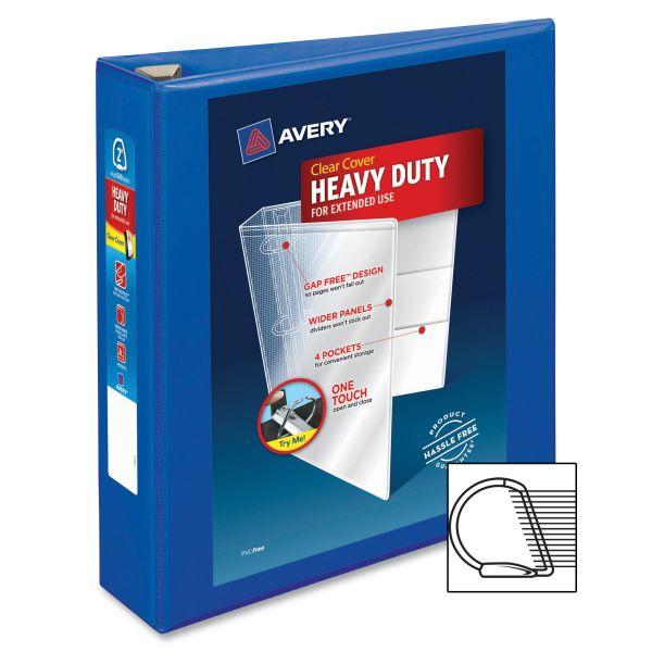 "Avery Heavy-Duty 2"" 3-Ring View Binder"