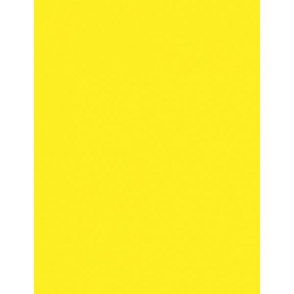 Pacon Colored Bond Paper - Neon Yellow