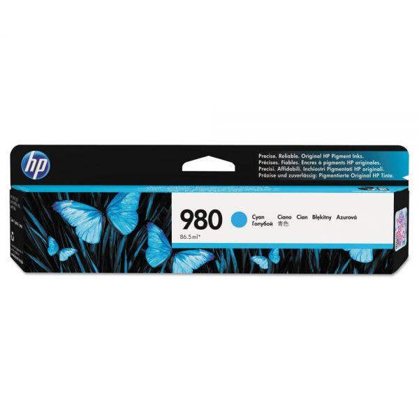 HP 980 Cyan Ink Cartridge (D8J07A)