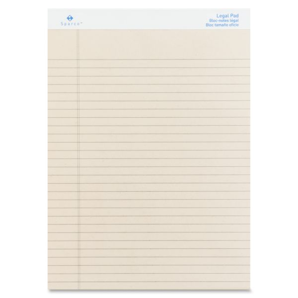 Sparco Letter-Size Legal Pads