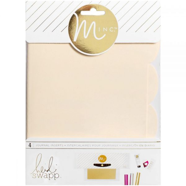 "Minc Journal Inserts 6""X8"" 4/Pkg"