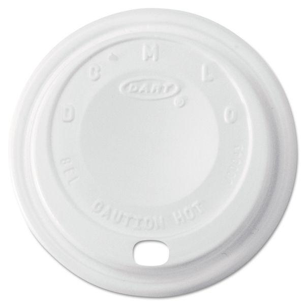 Dart Cappuccino Dome Sipper Coffee Cup Lids