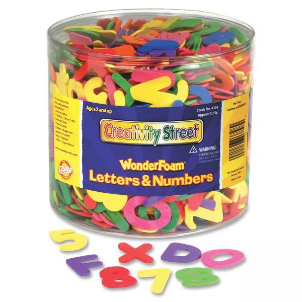 Creativity Street Wonderfoam Letters and Numbers