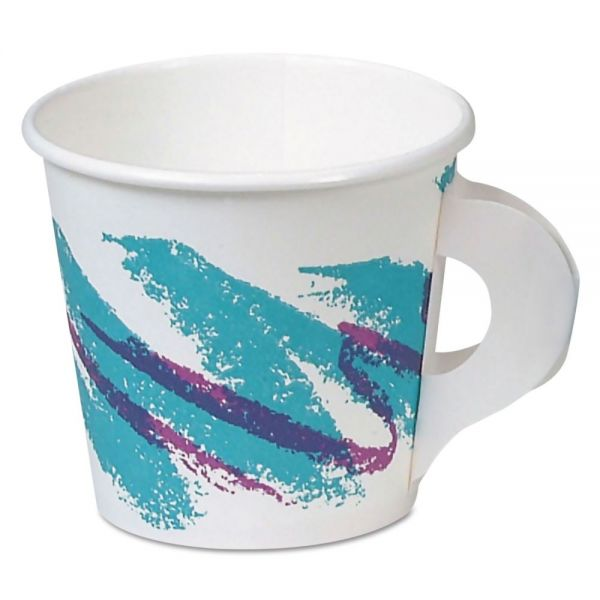 SOLO 4 oz Paper Coffee Cups with Handles