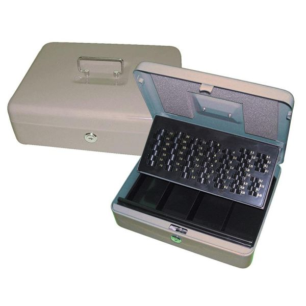 PM 3-in-1 Cash/Change Storage Security Box