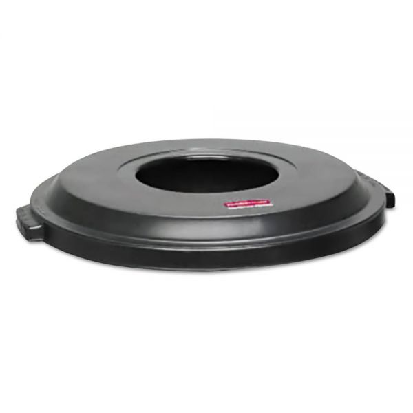 Rubbermaid Commercial Landmark Series Light-Duty Funnel Trash Can Lid