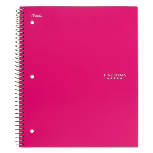 Five Star College Ruled Spiral Notebook