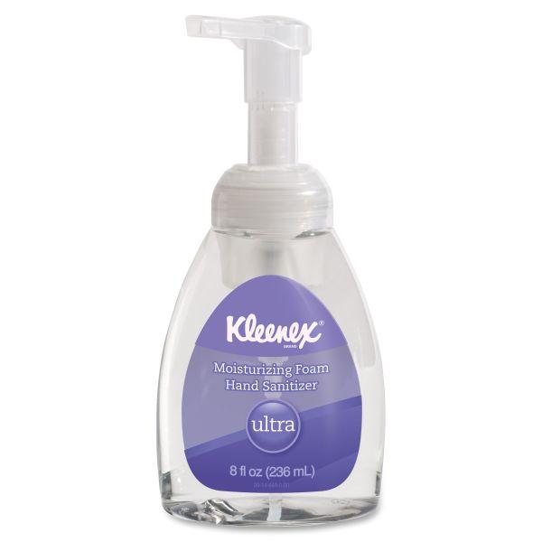 Kleenex Ultra Moisturzg Foam Hand Sanitizer