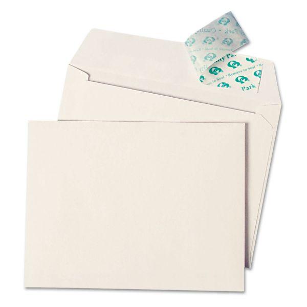 Quality Park Redi Strip Greeting Card/Invitation Envelope, A-4, Contemp, 50/Box