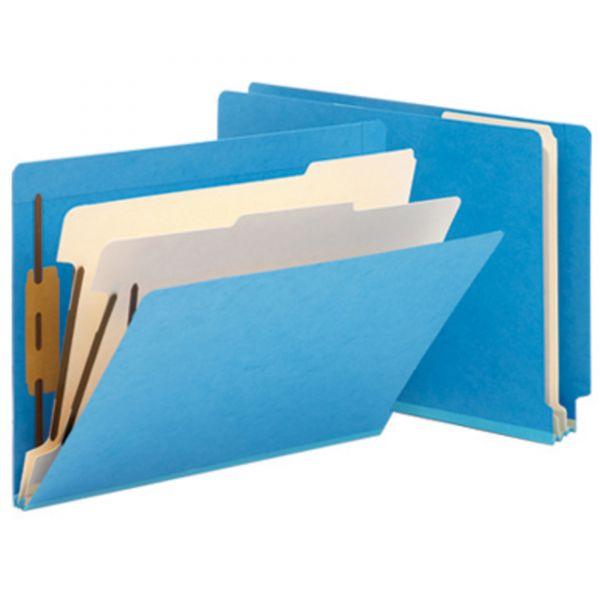 Smead 26836 Blue End Tab Classification File Folders