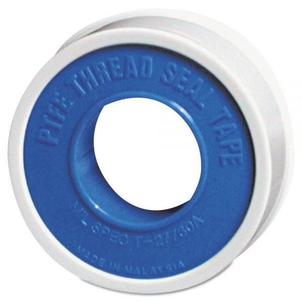 "Markal PTFE Pipe Thread Tape, 1/4"" x 520ft, Standard, White"