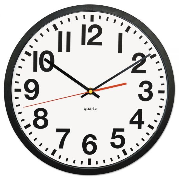 Universal Large Numeral Wall Clock