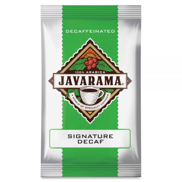 Javarama Signature Blend Decaf Ground Coffee Packets