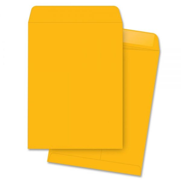 "Business Source 11 1/2"" x 14 1/2"" Catalog Envelopes"