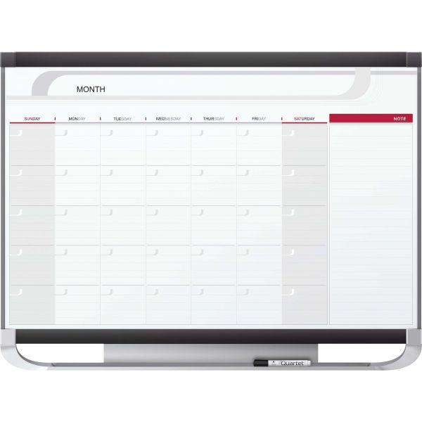 Quartet Prestige 2 Monthly Magnetic Dry-Erase Calendar