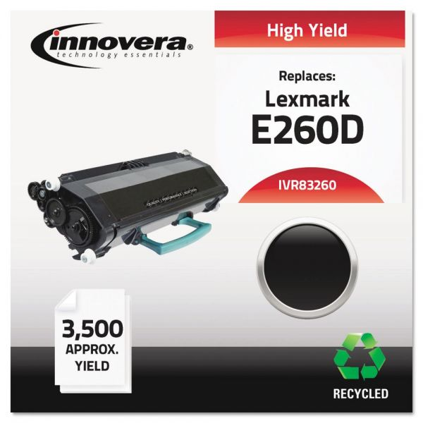 Innovera Remanufactured Lexmark E260D High Yield Toner Cartridge