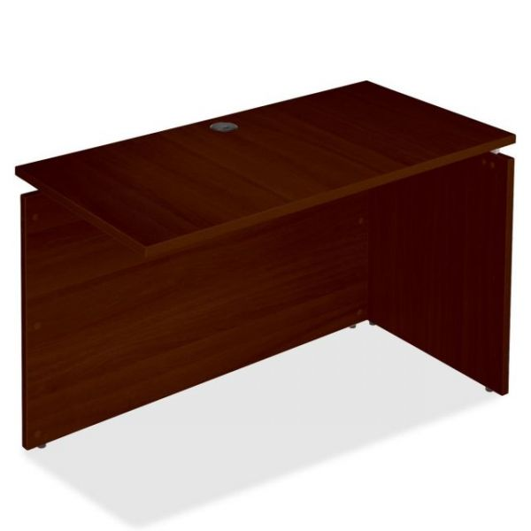 Lorell Concordia Laminate Desk Ensemble