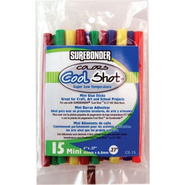 Super Low Temp Cool Shot Mini Glue Sticks