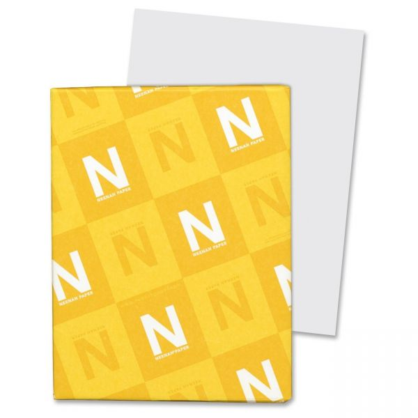 Neenah Paper Vellum Bristol Gray Cover Stock