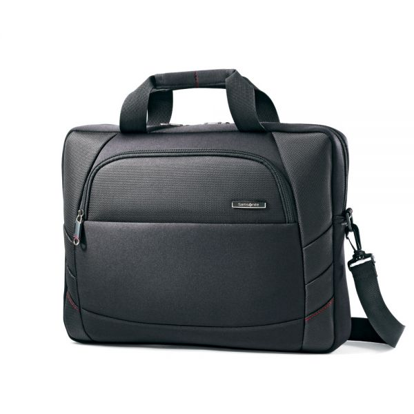 Samsonite Xenon 2 SlimBrief, 15 3/4 x 2 1/4 x 12, Black