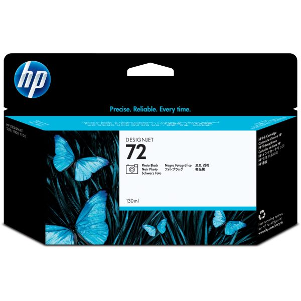 HP 72 Photo Black Ink Cartridge (C9370A)