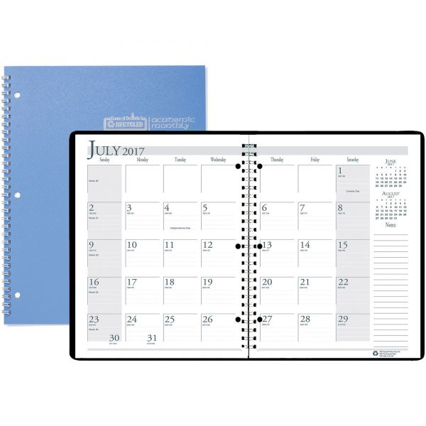 House of Doolittle Monthly Academic Planner