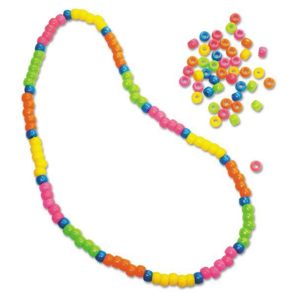 Creativity Street Neon Pony Beads