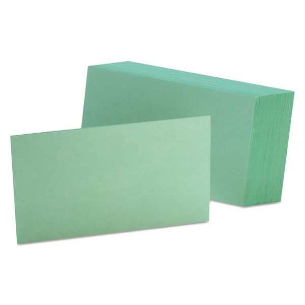 "Esselte 3"" x 5"" Blank Index Cards"