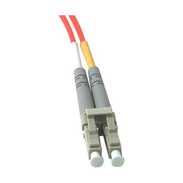 4m LC-LC 62.5/125 OM1 Duplex Multimode PVC Fiber Optic Cable - Orange