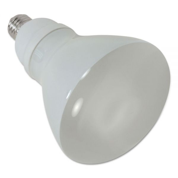 Satco CFL Reflector Bulb, 15 Watts, 2/Pack