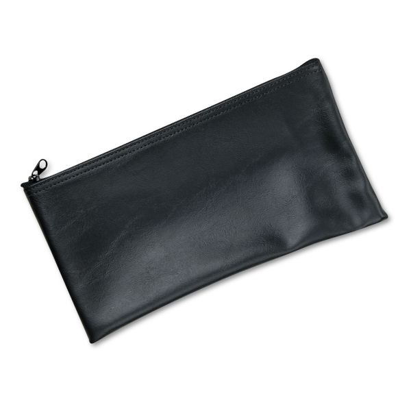 MMF Leatherette Zipper Wallet