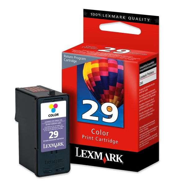 Lexmark #29 Color Return Program Ink Cartridge