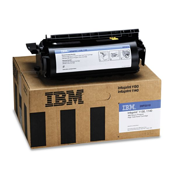 IBM 28P2010 Black High Yield Toner Cartridge