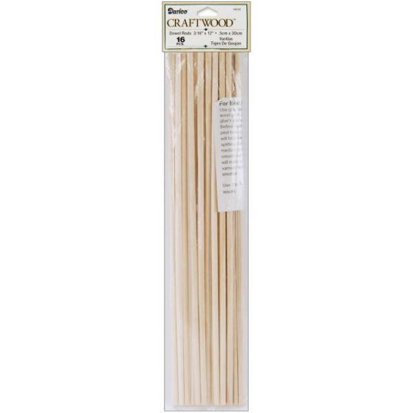 Darice Craftwood Dowel Rods
