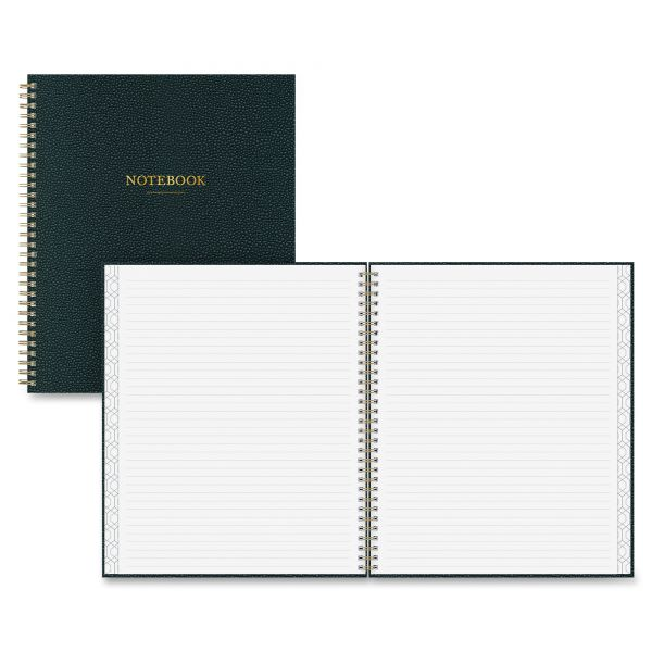 "Blue Sky Notebook, Ruled, 8"" x 10"", 80 Pages, Charcoal Black"