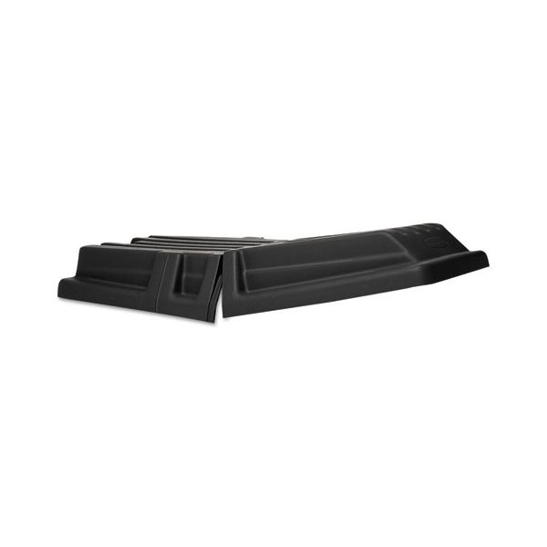 Rubbermaid Commercial Hinged Tilt Truck Lid, Rectangular, 28 1/2 x 56 1/2 x 9, Black