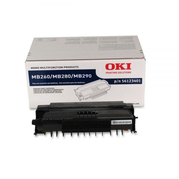 Oki 56123401 Black Toner Cartridge