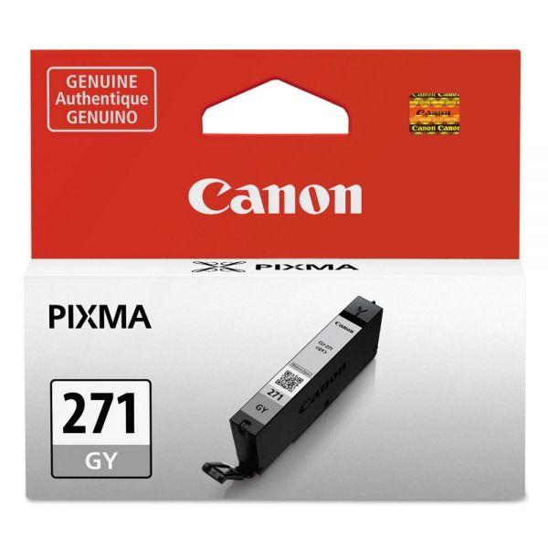 Canon CLI-271 Gray Ink Cartridge (0394C001)