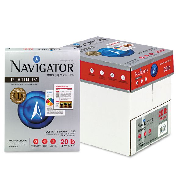 Navigator Platinum White Copy Paper