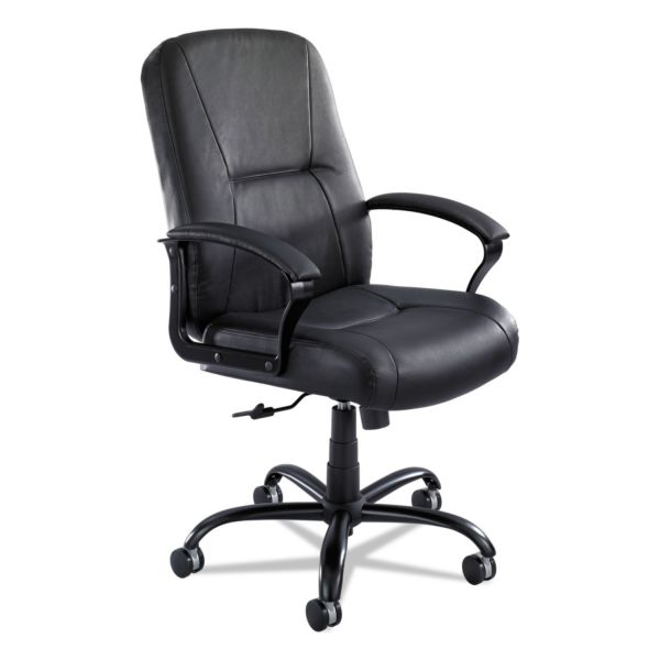 Safco Serenity Big & Tall Leather High-Back Office Chair