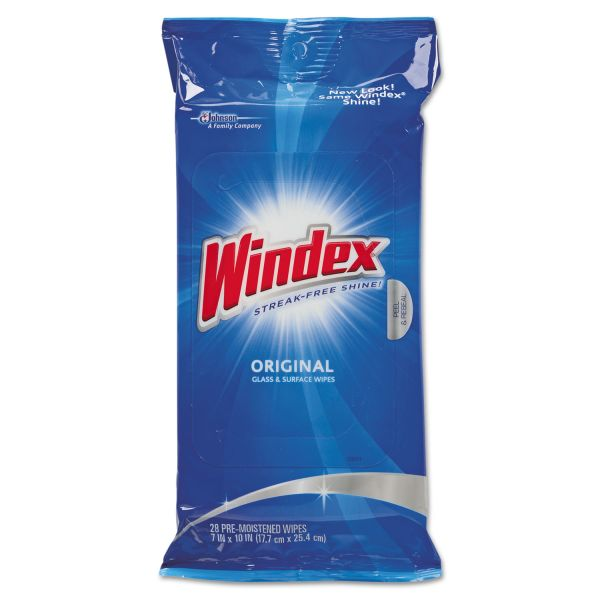 Windex Glass Cleaning Wipes