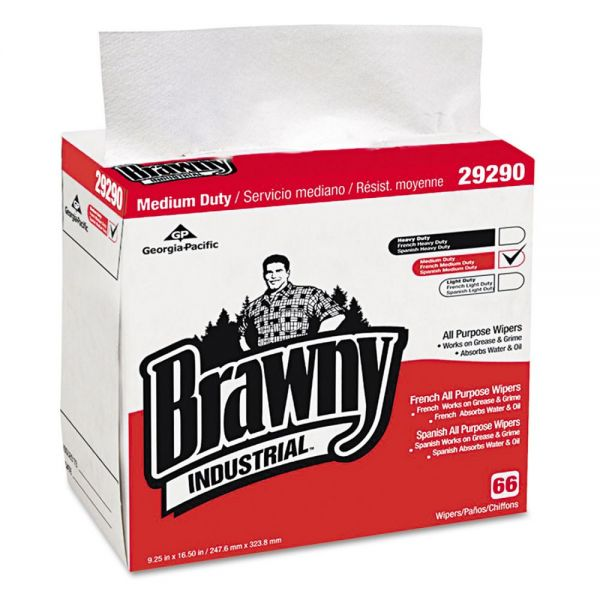 Brawny Industrial Medium Duty Wipers