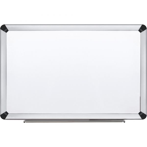 "3M 48"" x 36"" Magnetic Porcelain Dry Erase Whiteboard"