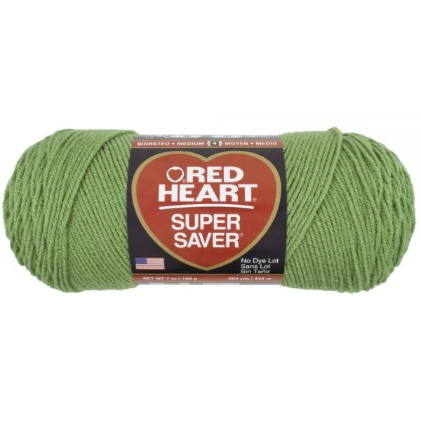 Red Heart Super Saver Yarn - Tea Leaf
