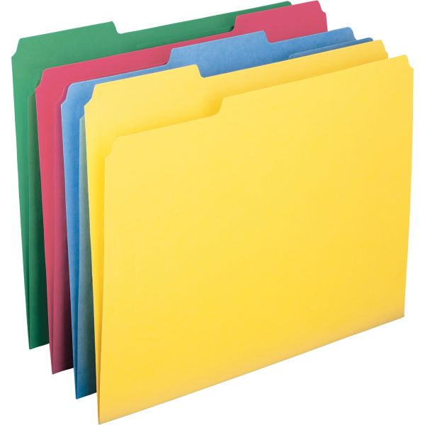 Smead WaterShed/CutLess Colored File Folders