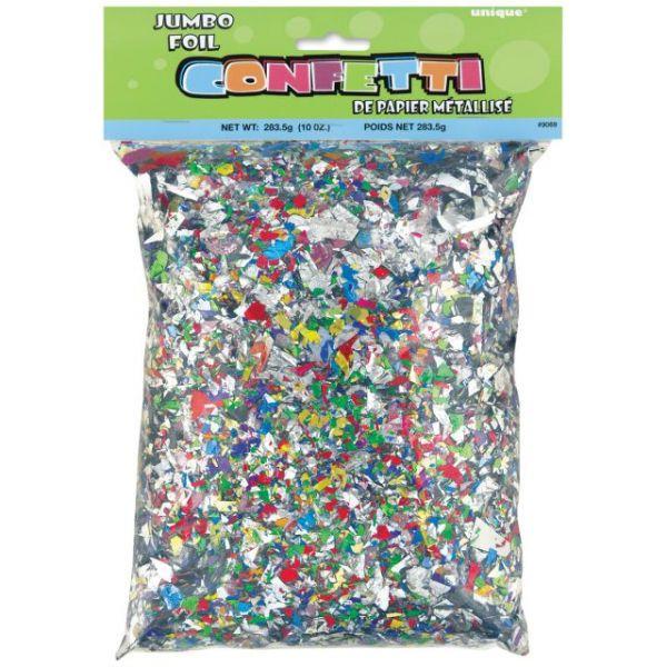 Jumbo Foil Confetti 10oz/Pkg