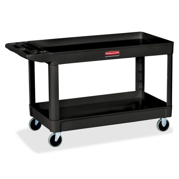 Rubbermaid Lipped-Shelf Utility Cart