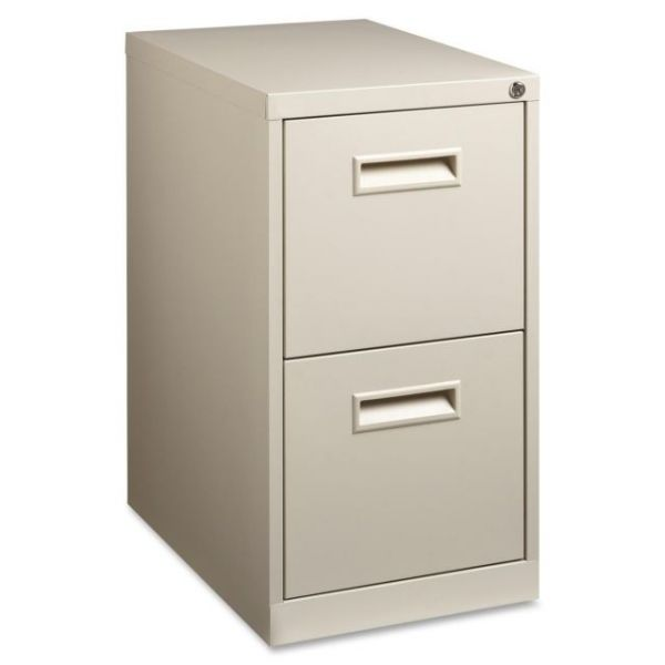 Lorell 2-Drawer Mobile File Cabinet